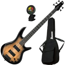 GSR205SM 5-String Electric Bass Guitar Bundle