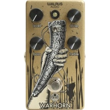 Warhorn Mid-Range Overdrive Effect Pedal