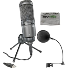 AT2020USB+ Recording Mic Bundle