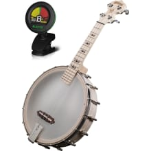 GUK Goodtime 4-String Banjo-Ukulele Bundle