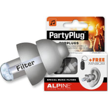 PartyPlug Single-Attenuator Molded Earplugs