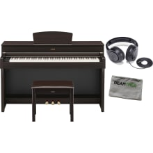 Yamaha YDP184R Dark Rosewood 88-Key Digital Piano