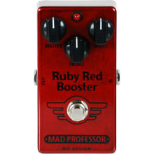 Ruby Red Booster Boost Guitar Effect Pedal