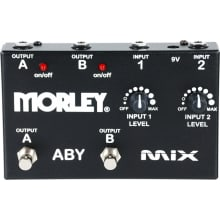 ABY Mix Mixer/Combiner Guitar Pedal