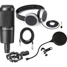 AT2035 Condensor Microphone Bundle