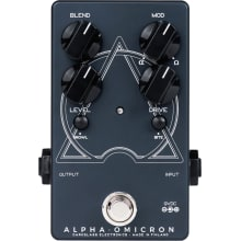 Alpha-Omicron Bass Preamp and Overdrive Pedal