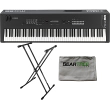 MX88 88-Not Weighted Key Action Synthesizer Bundle