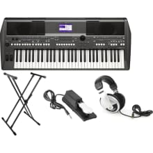 PSR-S670 61-Key Arranger Workstation Bundle