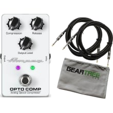 Ampeg Opto Comp Analog Optical Compressor Pedal Bu