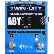Twin-City Bones ABY Amp Switcher Pedal