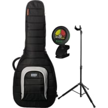 M80-AD-BLK Acoustic/Dreadnought Gig Bag Bundle