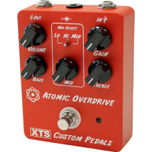 Atomic Overdrive Guitar Effects Pedal