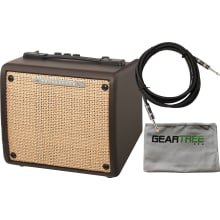 T15II Troubadour II 15watt Acoustic Amp Bundle