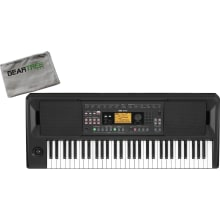 Korg EK50 Auto Accompaniment Keyboard w/ Cleaning