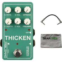 Malekko Thicken Multi Tap Delay / Chorus Pedal w/