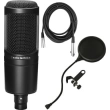 AT2020 Studio Microphone Bundle