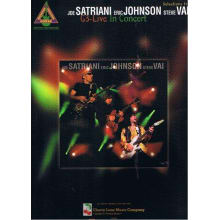 Guitar Tab from Satriani, Johnson, Vai in Concert