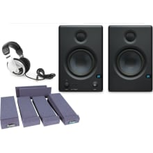 Eris E4.5 Bi-Amped Studio Monitor Pair Bundle