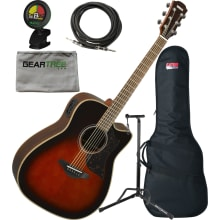 Yamaha A1 R TBS Folk Size Acoustic Electric Guitar
