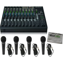 1402VLZ4 14-channel Compact Audio Mixer Bundle