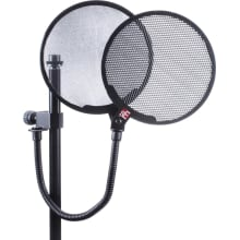 Recording Dual Pop Filter with 18