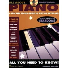 All About Piano Book/CD