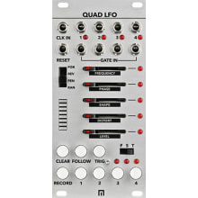 Malekko Quad LFO 4-Channel (w/16-Step Sequencer) L