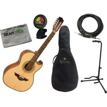 Bajo Quinto LBQ1ENM Acoustic-Electric Bundle