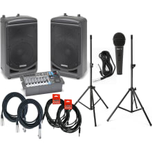 XP1000 (w/Bluetooth) Portable PA Bundle