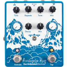 Avalanche Run V2 Stereo Delay Pedal and Delay