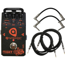 TightMetal JR Series Distortion Pedal Bundle