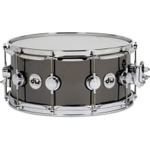 Collector's Series Black Nickel Over Brass Snare
