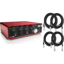 Scarlett 18i8 Desktop USB Audio Interface Bundle