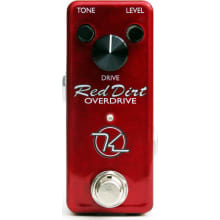 Red Dirt Mini Overdrive Guitar Effects Pedal