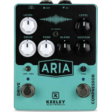 Keeley Aria Compressor Overdrive Guitar Effects Pe