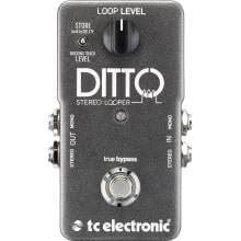 Ditto Stereo Looper Effects Pedal