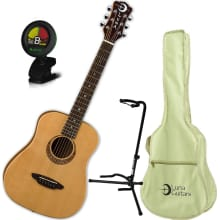 Safari Muse Spruce 3/4-Size Acoustic Bundle