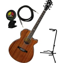 AEG12II HG Acoustic-Electric Guitar Bundle