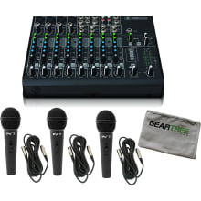 1202VLZ4 12-channel Compact Audio Mixer Bundle