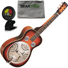 PBS-M Paul Beard Mah. Squareneck Resonator Bundle