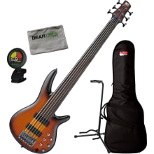 Ibanez SRF706 BBF SR Bass Workshop 6str Fretless E