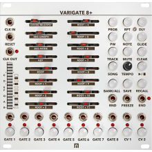 Varigate 8+ 8-Channel Gate Sequencer with CV Outs