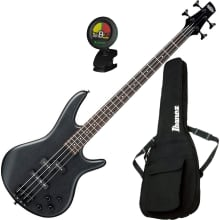 GSR200B 4-String Electric Bass Guitar Bundle