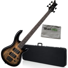 BUNDLE PARENT Dean Edge 2 5 String Charcoal Burst
