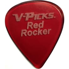 V-Picks Red Rocker Guitar Pick