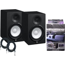 (2) HS7 95-Watt Active Studio Monitor Bundle