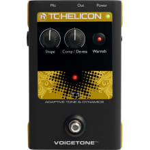 Helicon Voicetone T1 Vocal Tone/Dynamics Pedal