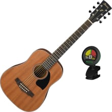 PF2MHOPN 3/4 Dreadnought Acoustic Guitar Bundle