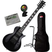 ESP LTD EC-1007 Evertune EMG Black BLK Electric Gu