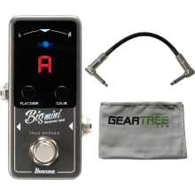 BIGMINI Chromatic Tuner Mini Pedal Bundle
